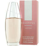 BEAUTIFUL SHEER by Estee Lauder / EAU DE PARFUM SPRAY 2.5 OZ